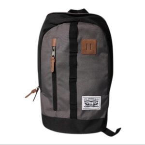 Levi's Bags - Levi's Mad City Grey and Black Backpack
